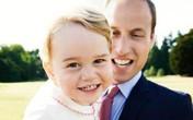 Ảnh Hoàng tử bé cười khoe răng sữa vô cùng đáng yêu
