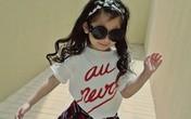 Bé 4 tuổi phối đồ cực chất khiến tín đồ thời trang mê mẩn