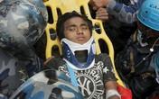 Động đất Nepal: 15 tuổi sống sót kỳ diệu sau 5 ngày bị chôn vùi