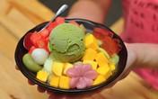Quán kem phong cách phố Điện Biên Phủ
