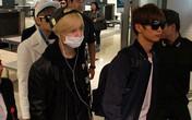 Fan ngồi la liệt ở sân bay, bật khóc nức nở khi thấy SHINee
