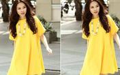 Phối váy suông duyên dáng như sao Việt