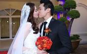 Trúc Diễm tình cảm hôn chồng trong tiệc cưới