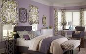Ngất ngây với những phòng ngủ rực rỡ sắc hoa