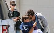 Miranda Kerr và Orlando Bloom đoàn tụ cùng con
