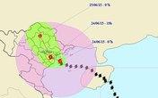 Tin tức mới nhất bão số 1: Giật cấp 12 cách Quảng Ninh - Thái Bình 50 km