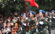 Bóng hồng ấn tượng trong lễ diễu binh, diễu hành kỷ niệm Quốc khánh