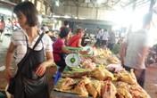 """Sau gà Mỹ, gà Thái Lan  lại """"chèn ép"""" gà nội"""