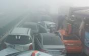 Kinh hoàng cận cảnh 100 xe đâm liên hoàn, hàng chục người thương vong