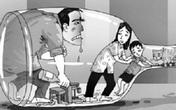 """Lạy các anh đừng """"zô"""" nữa (3): Các anh không xứng đáng làm bố, làm chồng!"""