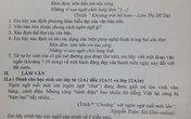 Ngôn ngữ tuổi teen vào đề kiểm tra văn, gây sốt mạng