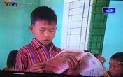 Xôn xao chuyện: Trẻ đọc ngược sách vẫn lên sóng VTV