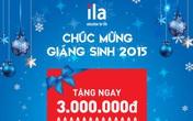 Quà tặng hấp dẫn của ILA nhân mùa Giáng sinh 2015