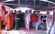 Tang lễ theo nghi thức quân đội của nhạc sĩ An Thuyên ở Hòa Bình