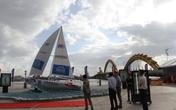 Đà Nẵng đặt mô hình thuyền buồm gần cầu Rồng