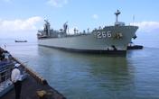 Tàu Hải quân Úc đến Đà Nẵng