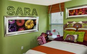 Trang trí chữ cho tường phòng ngủ ấn tượng