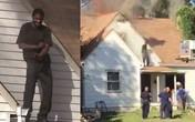 Nam thanh niên đốt nhà bạn gái cũ rồi thản nhiên nhảy múa trên mái
