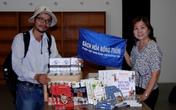 Chuyện buồn gia đình của người đàn ông đi bộ xuyên Việt vì sách