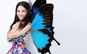 Hoa hậu quý bà Sương Đặng kiều diễm trong bộ sưu tập cánh bướm