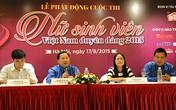 """Khởi động cuộc thi """"Nữ sinh viên duyên dáng Việt Nam 2015"""""""