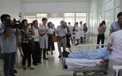 Bộ Y tế đưa phóng viên đi thực tế tại Nghệ An