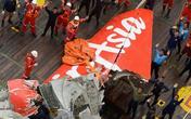 Cận cảnh trục vợt thành công đuôi máy bay QZ8501