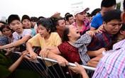 Xô đẩy, hỗn loạn tại buổi bán vé trận Việt Nam - Man City