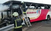 Xe bốc cháy ở Đài Loan, 24 du khách Trung Quốc thiệt mạng