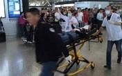 Nổ lớn rung chuyển sân bay Thượng Hải