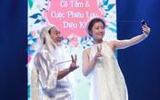 Quang Thắng hóa thân thành ông Bụt selfie cùng cô Tấm