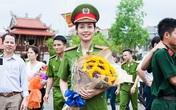 Nữ thủ khoa kép xinh đẹp của Học viện Cảnh sát Nhân dân
