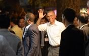 Ông Obama ăn 2 suất bún chả, uống 2 chai bia