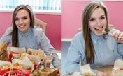 Cô gái xinh đẹp chỉ ăn KFC trong suốt 3 năm