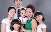 Vợ chồng Thái Thùy Linh hạnh phúc bên con chung, con riêng