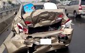 TP.HCM: Tai nạn liên hoàn vì lý do lãng xẹt