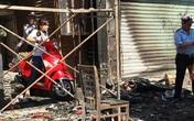 Trăm khách tháo chạy khỏi quán cà phê bốc cháy ở Sài Gòn