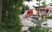 Hiện trường vụ xả súng tại trung tâm mua sắm ở Đức