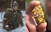 Lặn biển, người đàn ông tìm thấy cục vàng to bằng quả trứng