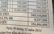 Sửng sốt hóa đơn bữa ăn của 17 dân chơi 'đốt' 156 triệu