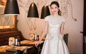 Hoa hậu Đặng Thu Thảo tỏa nhan sắc ngọt ngào khi dự tiệc