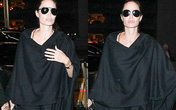 Angelina Jolie đưa 3 con ra sân bay giữa tin đồn tán tỉnh trai trẻ