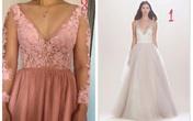 """Bỏ 10 triệu may váy cưới online, cô dâu nhận về """"bộ rèm cửa"""", ấm ức tố shop vô trách nhiệm"""