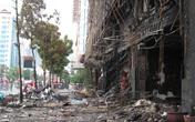 Hiện trường tan hoang sau vụ cháy kinh hoàng quán karaoke ở Trần Thái Tông