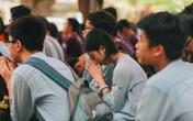 Học sinh trường Lương Thế Vinh lên chùa ăn chay, nghe giảng đạo