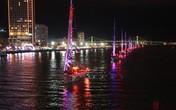 Người Đà Nẵng thất vọng vì thuyền buồm diễu hành… quá tối