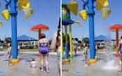 Bảo mẫu dội nước lên đầu bé 7 tháng tuổi để rèn luyện