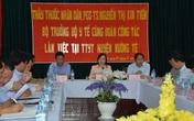 Bộ trưởng Bộ Y tế: Lai Châu cần tạo điều kiện cho cán bộ đi đào tạo nâng cao trình độ