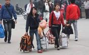 Sinh viên nhiều trường được nghỉ Tết cả tháng