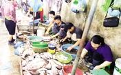 """Tấp nập khách """"săn"""" cá ươn giá rẻ tại chợ thực phẩm Hà Nội"""
